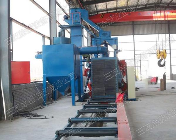 上海钢材通过式抛丸机