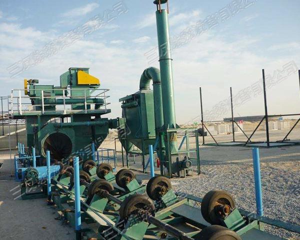 上海大型钢管抛丸机