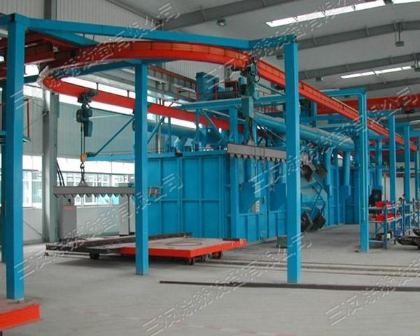 上海吊链式抛丸机价格