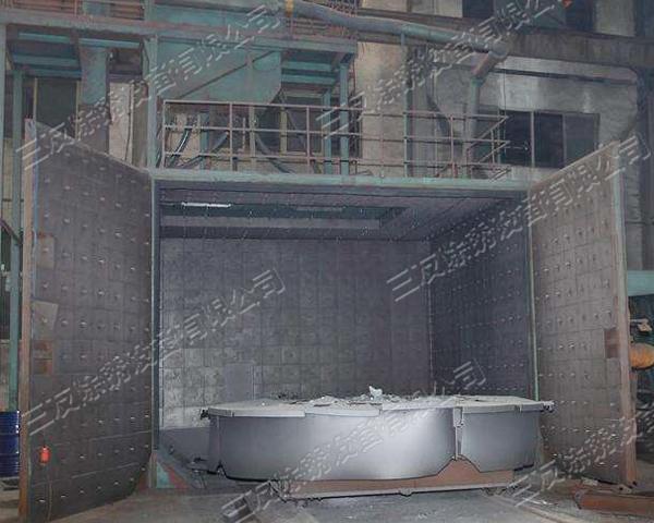 上海转台抛丸清理机